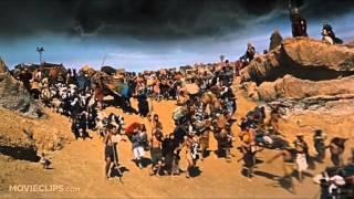Moses Parts the Sea   The Ten Commandments 6 10 Movie CLIP 1956 HD