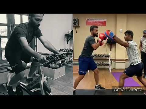 Ajinkya Rahane Intense Gym Workout Strength And Conditioning Training For Cricketers And Runners
