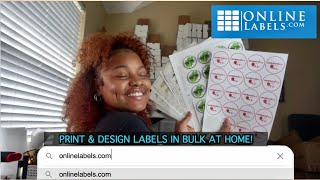 How To Print 1000 Business & Product Labels at Home for $17 | Onlinelabels.com Demo