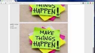 Basic Blogging - Quick Image Optimization for your blog