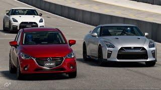 デミオでGT-RとGT-Rニスモをやっつけろ!! GTsport