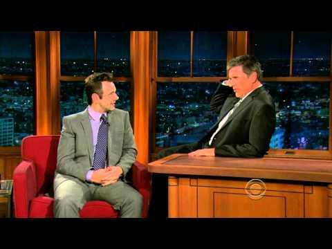 Late Late Show with Craig Ferguson 11/30/2009 Michael Sheen, Carl Bernstein