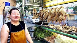 Phát sốt xe cháo vịt gỏi vịt chị mập bán cả ngày lẫn đêm ở Sài Gòn | saigon travel Guide