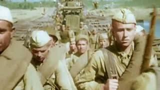 Вторая мировая война в цвете.  Советское наступление