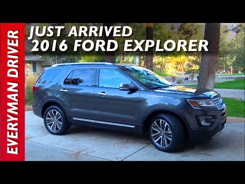 Wow, Just Arrived: 2016 Ford Explorer Platinum 4WD on Everyman Driver