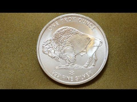 Silver Buffalo Round Elemetal