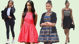 Malia and Sasha Obama's style evolution