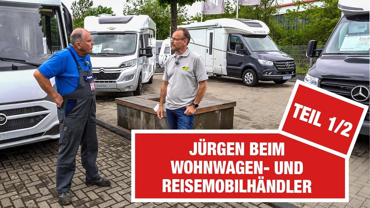 SO geht Campen im Jahr 2021! 😎🚐 Jürgen checkt die Reisemobil-Trends von Luxusmobil bis Camper-Van!