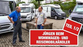 SO geht Campen iṁ Jahr 2021! 😎🚐 Jürgen checkt die Reisemobil-Trends von Luxusmobil bis Camper-Van!