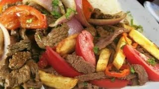 Lomo saltado Peruano (Cocina Facil)