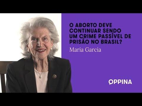 O aborto deve continuar sendo um crime passível de prisão no Brasil? – Maria Garcia