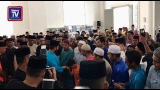 TMJ rasmi Masjid Besar Bandar Seri Alam