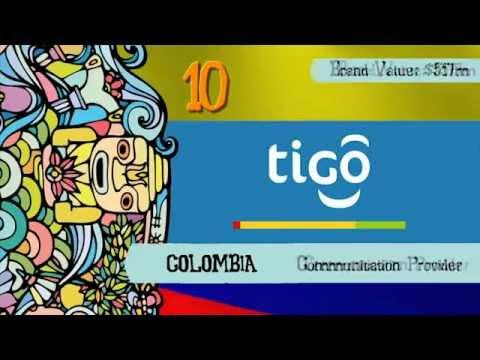 BrandZ LATAM Top50 2012: Colombia Top 10