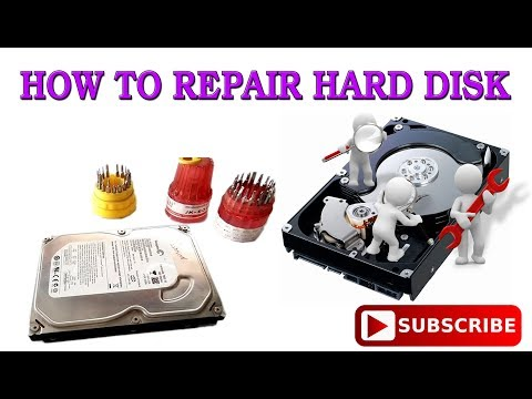 HOW TO REPAIR HARD DISK ( HDD ) PC Or Laptop - HINDI