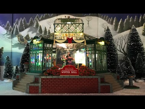 "2018 Lemax Christmas in July! - ""The Garden Ballroom"" and ""Majestic Christmas Tree"" Reviews"