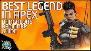 Apex Legends - Bangalore SLAYS!  (Beginner Guide and Inspiration)