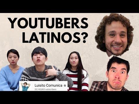 COREANOS CONOCIENDO YOUTUBERS LATINOS