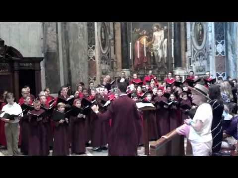 Hallelujah Chorus at Vatican