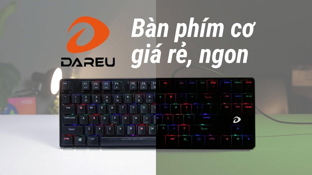Trải nghiệm bàn phím cơ SIÊU NGON dưới 1 triệu đồng – DareU DK880