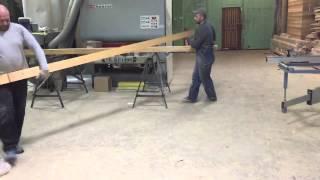 видео брус из лиственницы