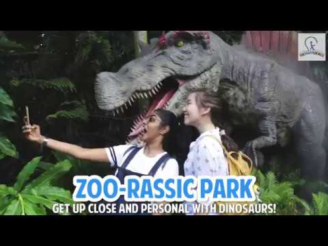 Dinosaurs have invaded Singapore Zoo and River Safari!