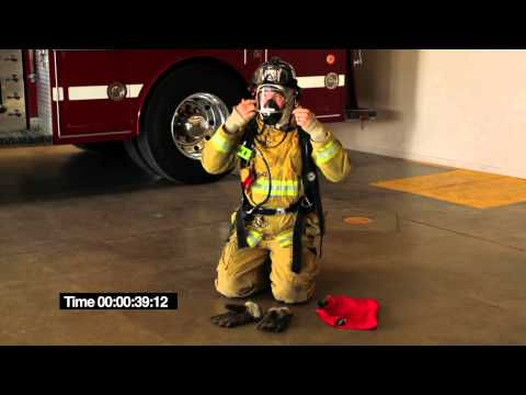 Crafton Hills Fire Academy SCBA donning evolution.mov