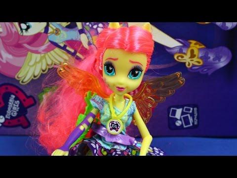 My Little Pony - Fluttershy /Флиттерши - Friendship Games / дружба игры - Equestria Girls - B2023