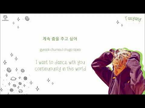 TAEYANG 태양 - Wake Me Up Color-Coded-Lyrics Han l Rom l Eng 가사 by xoxobuttons