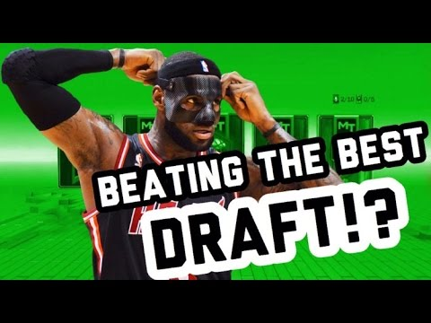NBA 2KCENTRAL DRAFT - TRYING TO BEAT THE BEST DRAFT OF NBA 2K17!!
