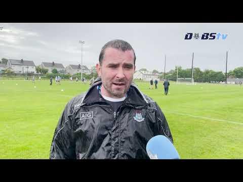 Dublin U20s hurling manager Paul O'Brien looks ahead to U20 All-Ireland Final v Cork
