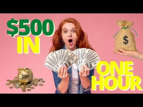 🔥🔥 Get Paid $500 In One Hour   Make Money Online 2021 🔥🔥
