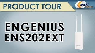 EnGenius ENS202EXT High-powered/Long-range Wireless N300 Outdoor AP Product Tour- Newegg Lifestyle