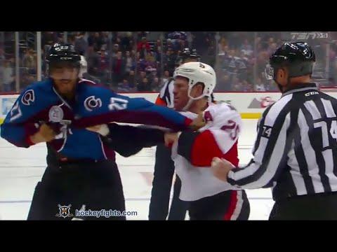 Chris Neil vs Andreas Martinsen Nov 25, 2015