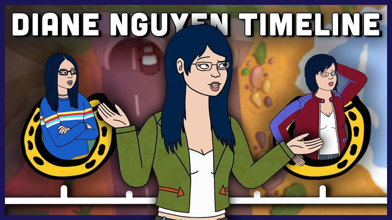 Download The Complete Diane Nguyen Timeline   BoJack Horseman