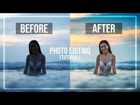 PHOTO EDITING TUTORIAL!