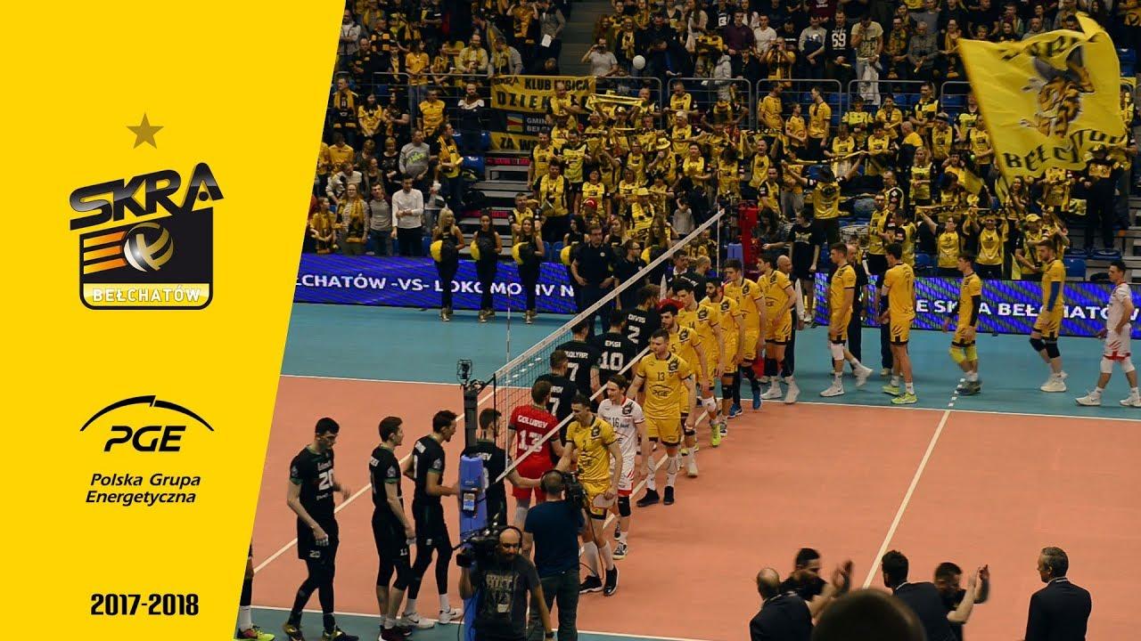 PGE Skra – Lokomotiw 3:0 | Lider pokonany!
