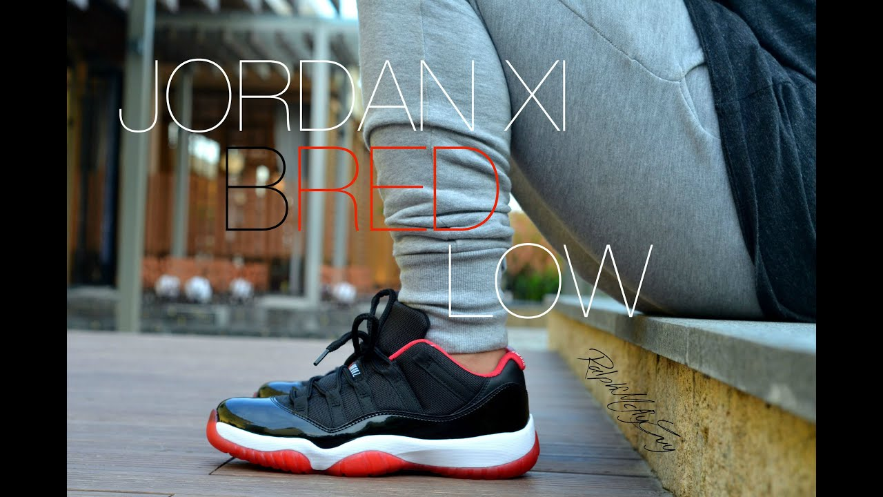 Jordan XI Bred Low Sneaker Review + On Feet