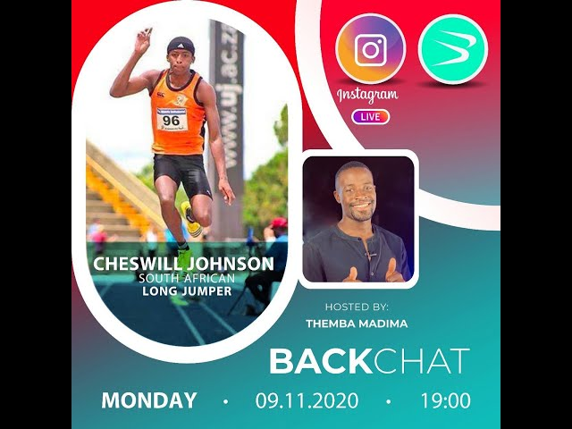 BackChat Ep75 with Cheswill Johnson