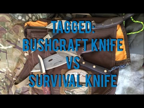 Tagged: Bushcraft Knife VS Survival Knife MHO
