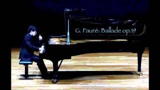 G. Fauré: Ballade Op.19