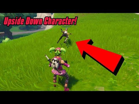 Make your character Upside Down  Glitch In Fortnite (New) Fortnite Glitches PS4/Xbox one/PC