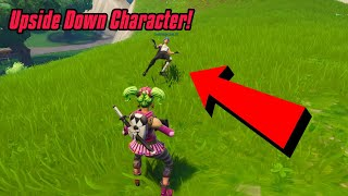 Faites votre personnage Upside Down Glitch In Fortnite (New) Fortnite Glitches PS4/Xbox one/PC