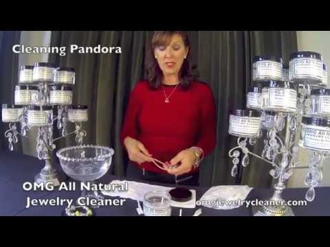 How To Clean Pandora Jewelry with OMG All Natural Jewelry Cleaner at home in less than one minute!