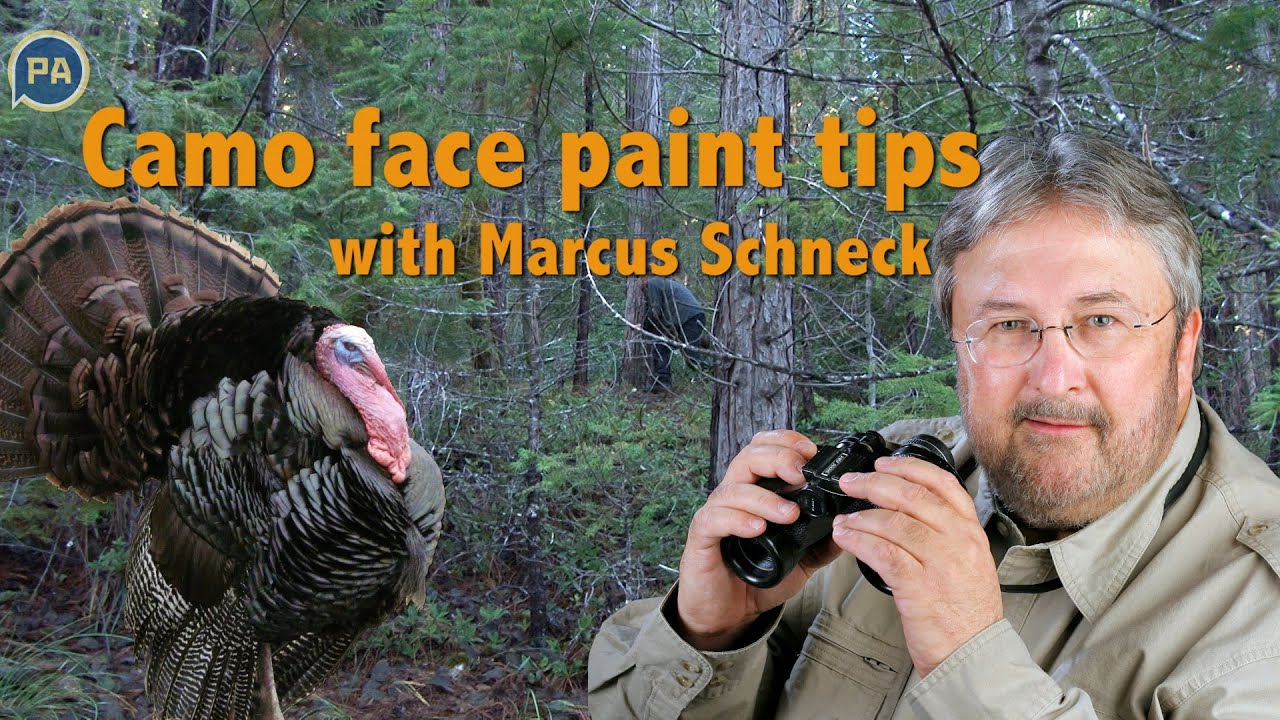 How To Apply Hunting Face Paint