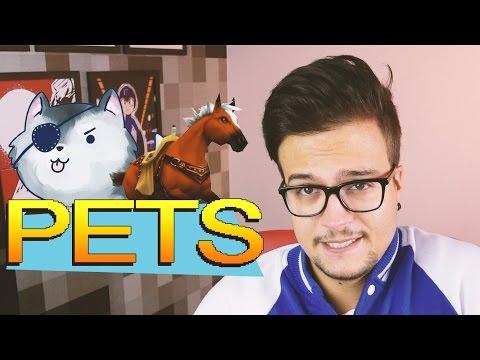 MELHORES PETS DOS GAMES - Top 5 com Damiani