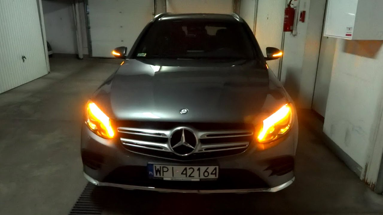 2016 Mercedes Benz Glc Amg 4matic Led Lights Ils Leds