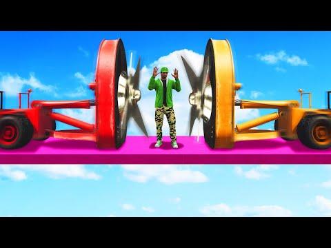EXTREME BLENDER TRUCK CHALLENGE! (GTA 5...