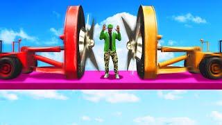 EXTREME BLENDER TRUCK CHALLENGE! (GTA 5 Funny Moments)