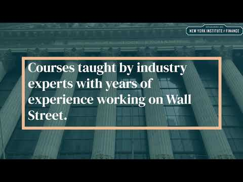 New York Institute of Finance   NYIF   Finance for Wall Street Professionals