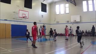 Matthew Kong #10 AAU Basketball Highlights, Summer 2018, Part 1